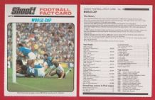 Italy Paolo Rossi Juventus v West Germany 1982 World Cup Final